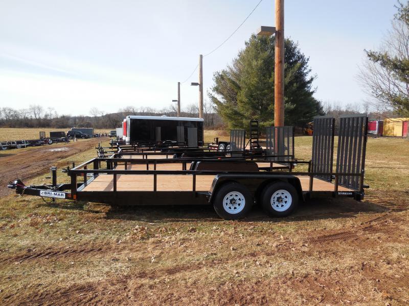 2020 Bri-Mar EH18-10LE-HDLS Equipment Trailer