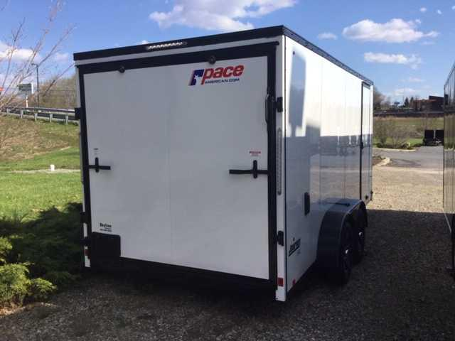 2021 Pace American JV7X16TE2SE Enclosed Cargo Trailer