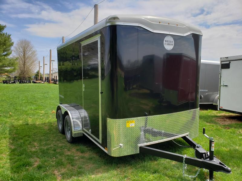 2019 Wells Cargo RF712T2 Enclosed Cargo Trailer