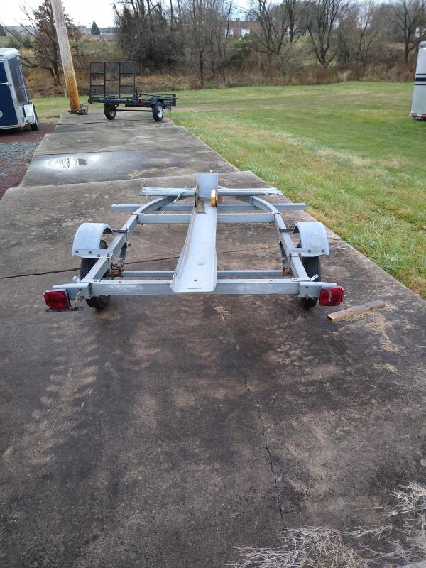 1999 Sealion Trailers Motorcycle 5X10 Trailer