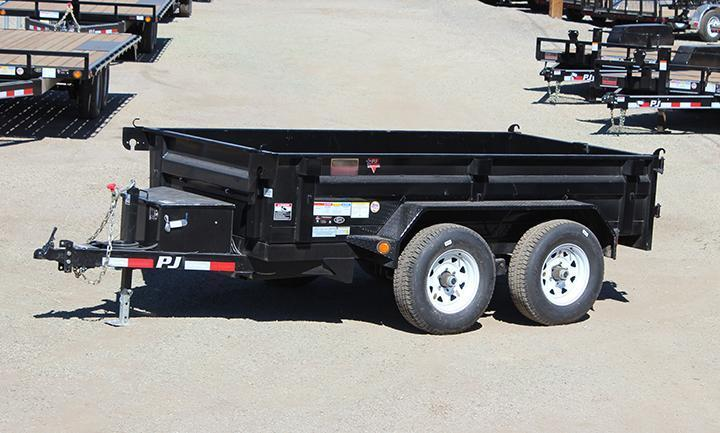 ON SALE! NOW ONLY $5795! PJ Dump Trailer with Tarp Kit
