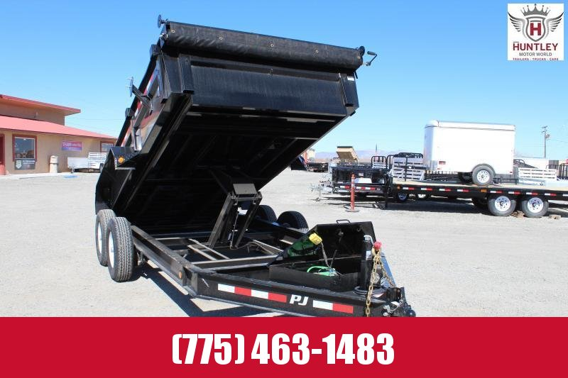 PJ Trailers Dump DL16 with 10k Jack now Only $8995