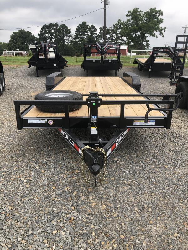 2019 Delco Trailers 20x83 Equipment Hauler Equipment Trailer