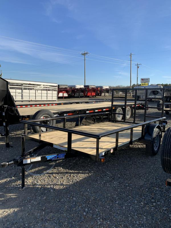 2020 Top Hat Trailers 12x77 BP Utility Trailer