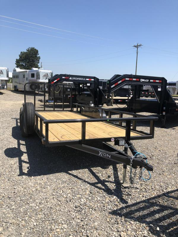2019 X-On 18x83 BP Utility Trailer