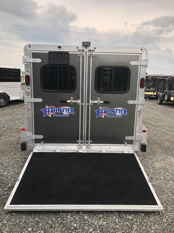2019 Frontier 6 Pen Low Pro Pig Trailer