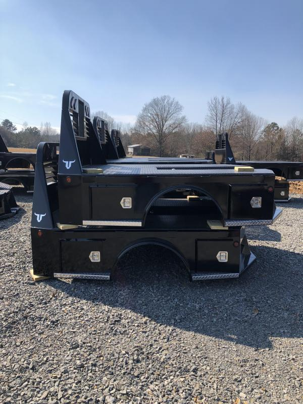 2019 Neckover Trailers Truck Bed Skirted with Trough