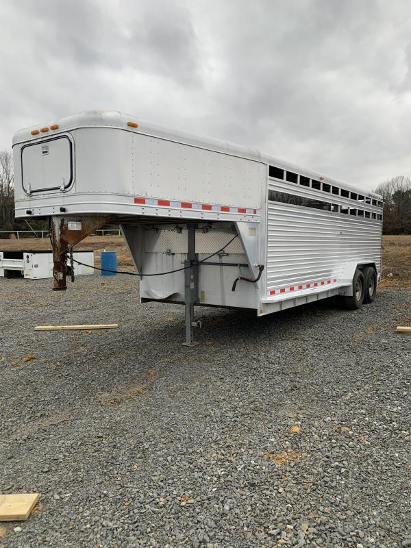 1997 Featherlite 7'x20' Stock Trailer
