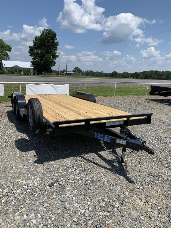 2019 Top Hat Trailers 18x83 BP Car Hauler Trailer