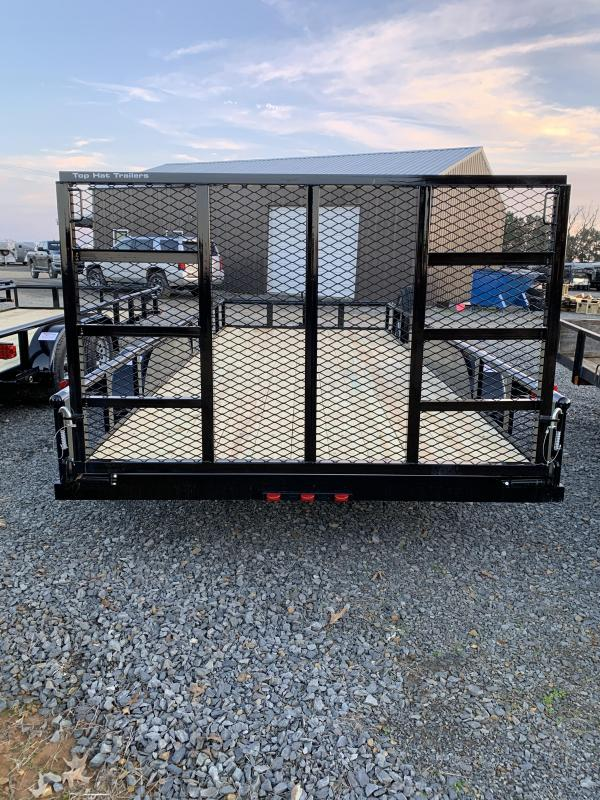2020 Top Hat Trailers 18x83 BP Utility Trailer