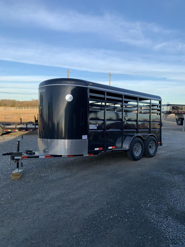 2020 Delco Trailers 16x6 BP Stock Livestock Trailer