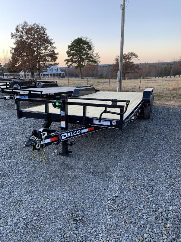2020 Delco Trailers 20x83 BP Equipment Hauler