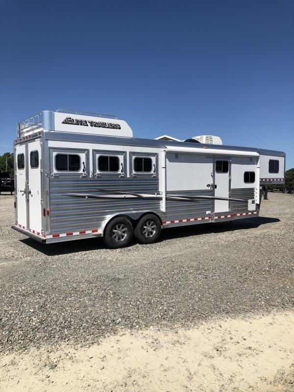 2020 Elite Trailers 3 Horse Mustang LQ Horse Trailer