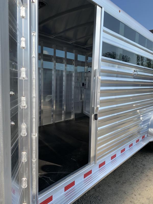 2020 Elite Trailers 7x24 Stock Combo Livestock Trailer