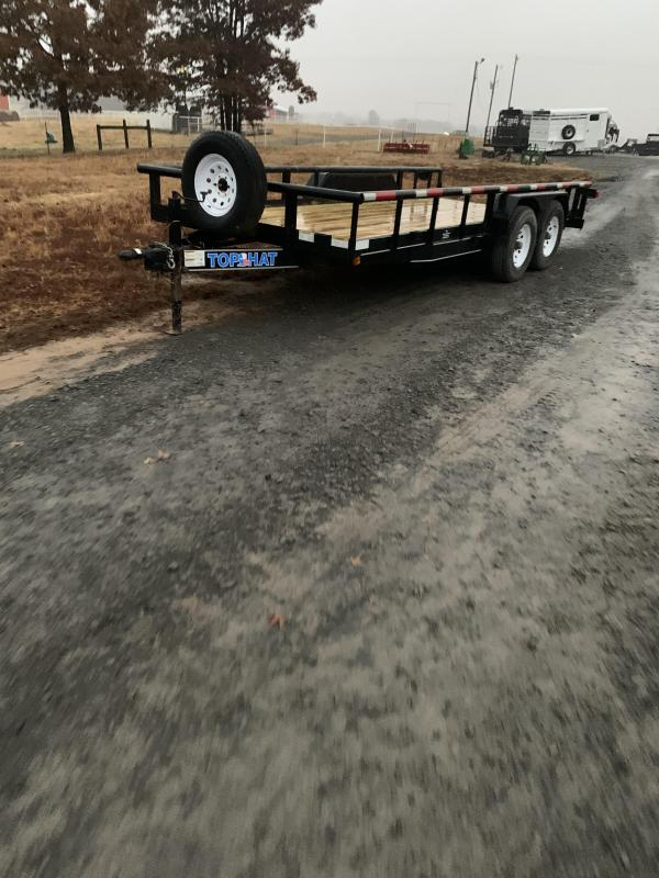 2010 Top Hat Trailers 18x83 BP Utility Trailer