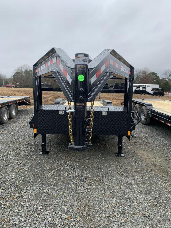 2020 Delco Trailers 24' GN Equipment Hauler Equipment Trailer