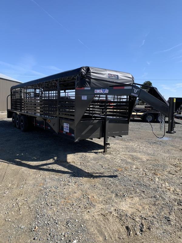 2020 Neckover Trailers 28x6.8 Stock Livestock Trailer