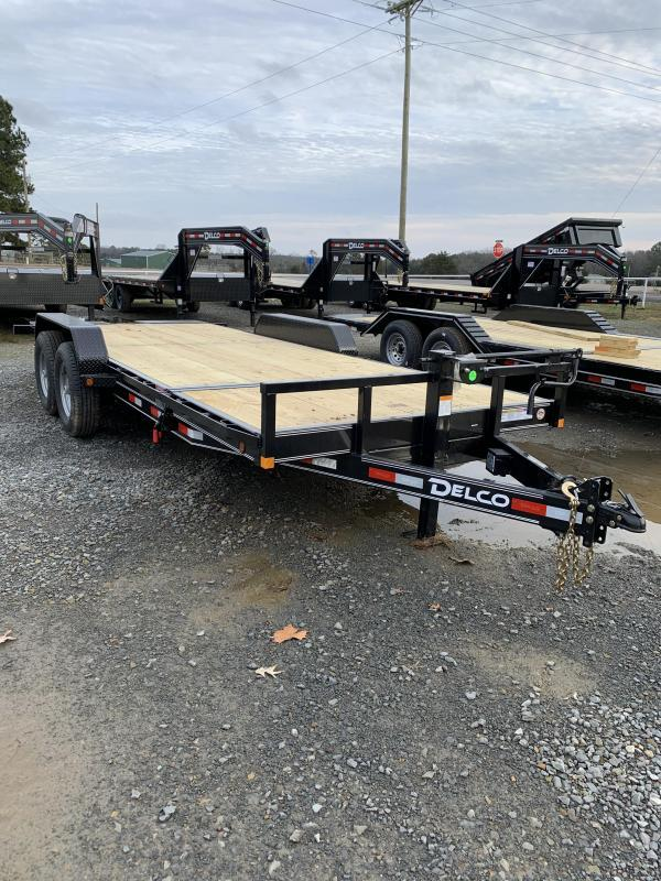 2020 Delco Trailers 20' Tilt Equipment Hauler Trailer