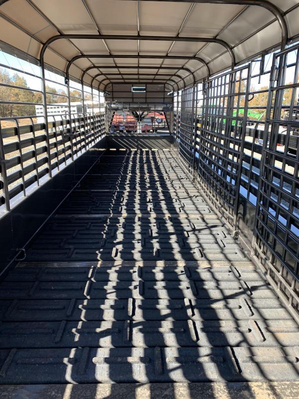 2020 Neckover Trailers 32x6.8 Livestock Trailer