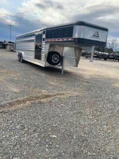 2021 Elite Trailers 8'x24' Show Cattle Trailer Livestock Trailer