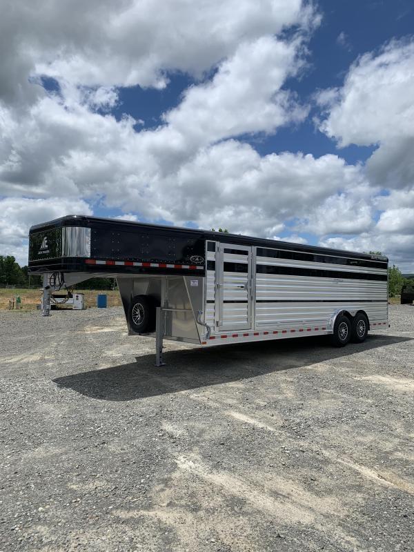 2021 Elite Trailers 8'x24' Show Cattle Trailer Livestock Trailer