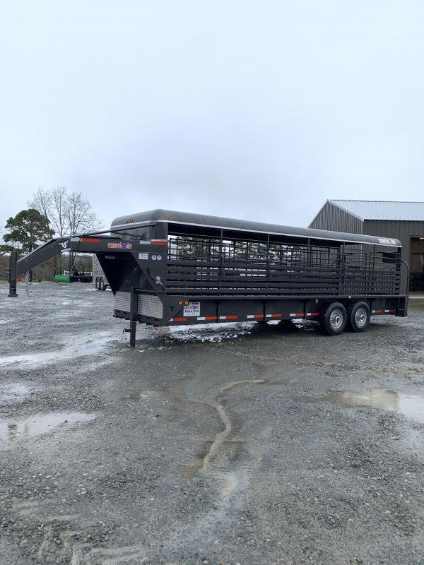 New 2020 Neckover Trailers 24x6.8 Metal Top Stock Trailer