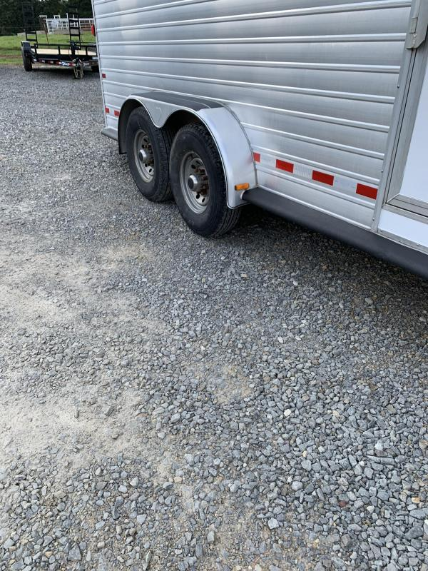 2004 Hart Trailers 20x7 Stock Combo Livestock Trailer