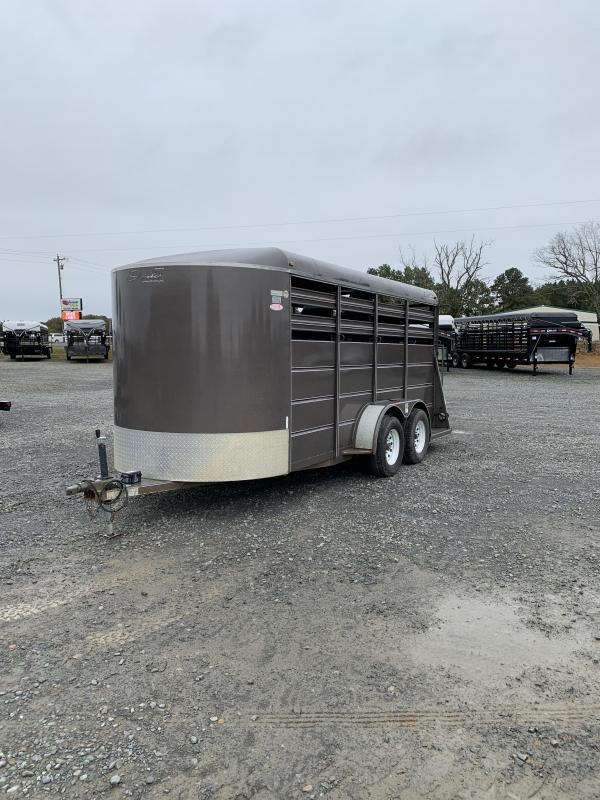 2012 Delta Manufacturing 3 Horse BP Trailer