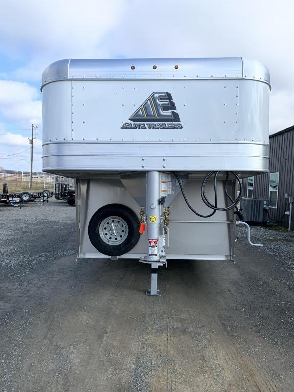 2020 Elite Trailers 8'x24' Show Cattle Stock Trailer