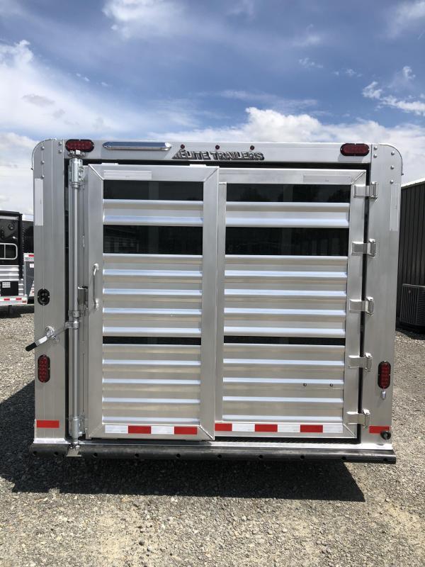 2020 Elite Trailers 8x24 Show Cattle Stock Trailer