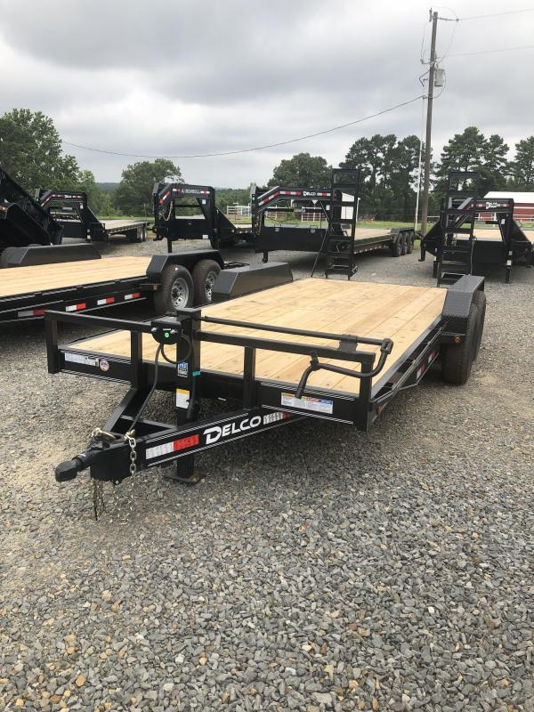 2019 Delco Trailers 18x83 Equipment Hauler Trailer