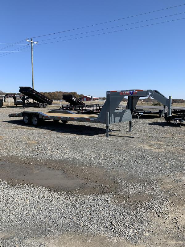 2020 Neckover Trailers 26' plus 2' Equipment Hauler Equipment Trailer