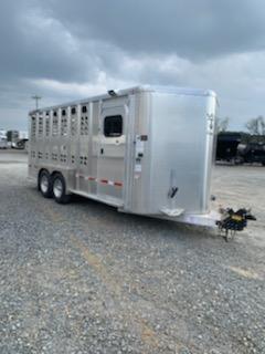 2020 Wilson Trailer Company 3 Horse BP Roper Livestock Trailer