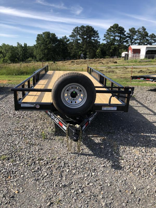 2019 Delco Trailers 20x83 Equipment Hauler