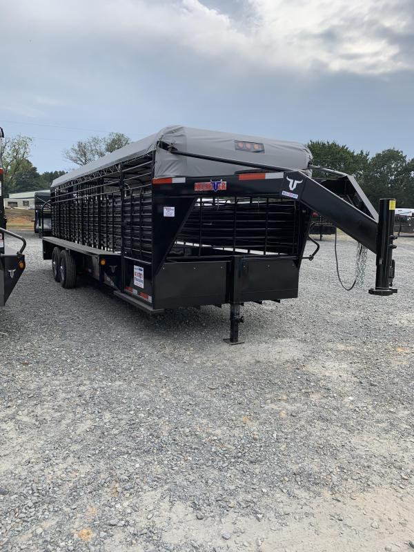 2019 Neckover Trailers 24x6.8 Livestock Trailer