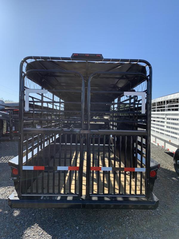 2020 Delco Trailers 16X6 Livestock Trailer