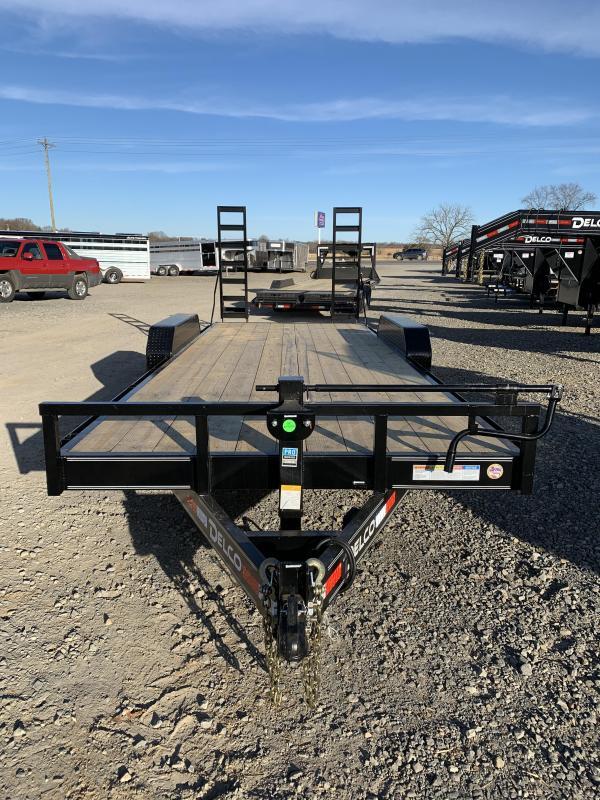 2020 Delco Trailers 20x83 BP Equipment Hauler Trailer