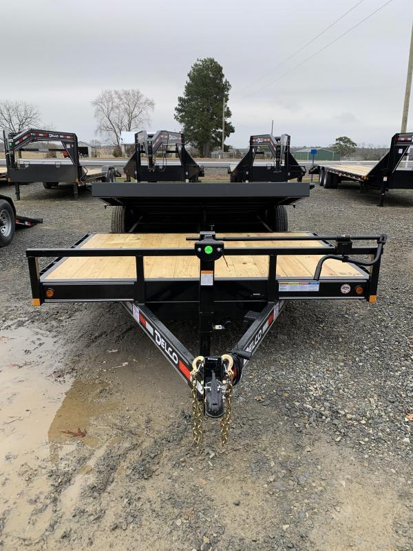 2020 Delco Trailers 22' Tilt Equipment Hauler Trailer