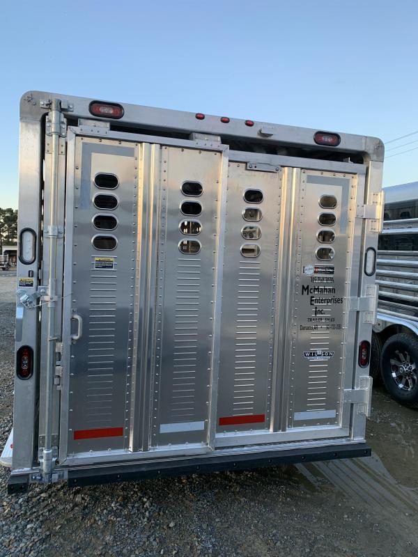 2020 Wilson Trailer Company 7'x24' Ranch Hand Livestock Trailer