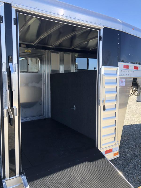 2020 Elite Trailers 8x28 Show Cattle Stock Trailer