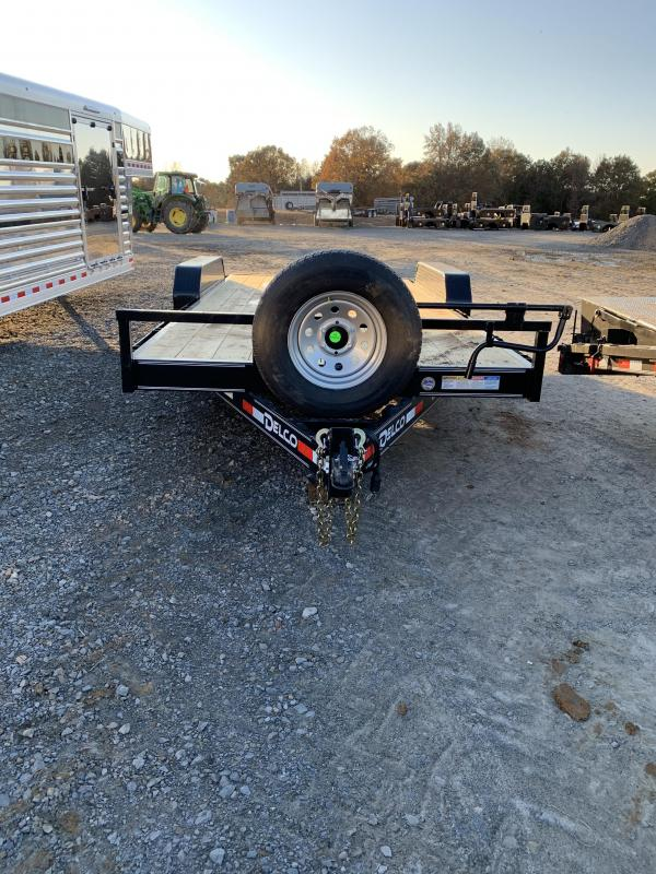 2020 Delco Trailers 18x83 BP Equipment Hauler
