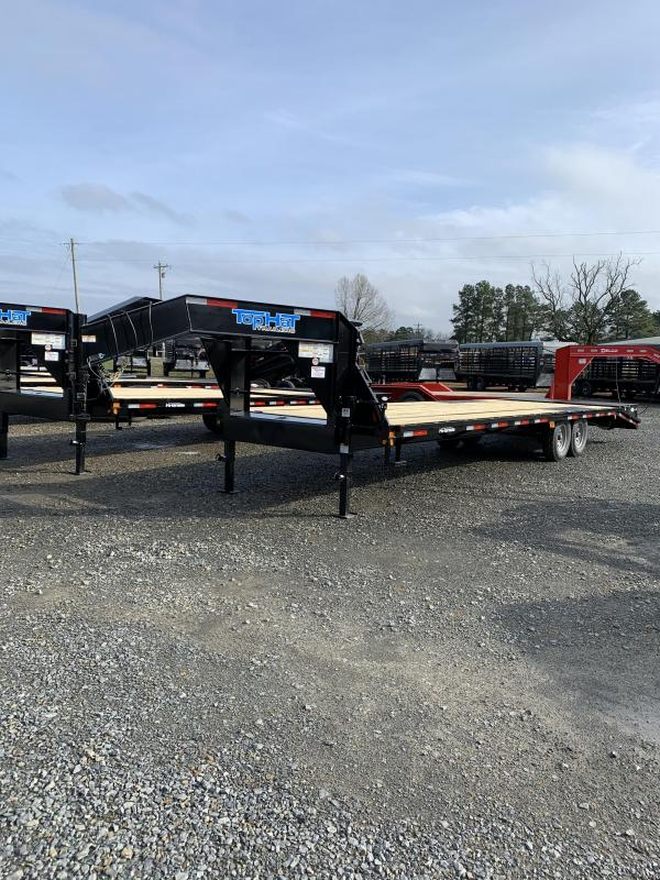 2020 Top Hat Trailers 25' plus 5' GN Flatbed Trailer