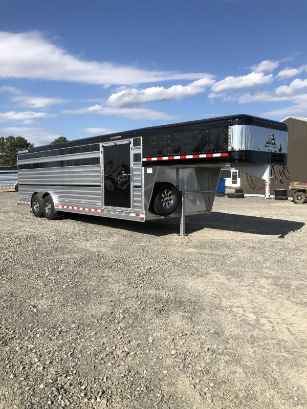 2020 Elite Trailers 8x24 Show Cattle Livestock Trailer