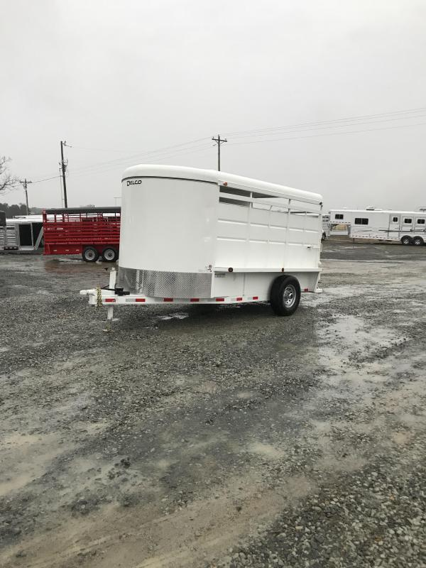 2019 Delco Trailers 6x14 BP Stock Trailer