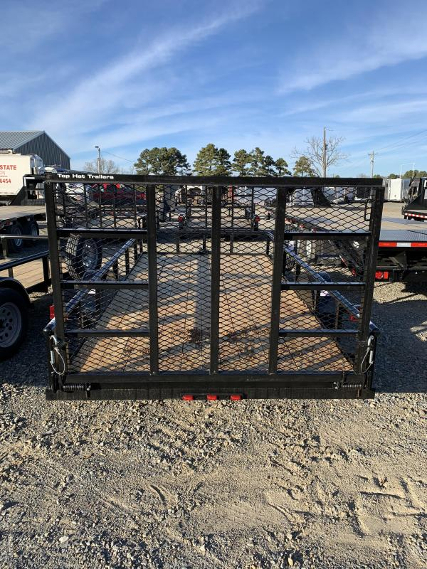 2020 Top Hat Trailers 14x77 BP Utility Trailer