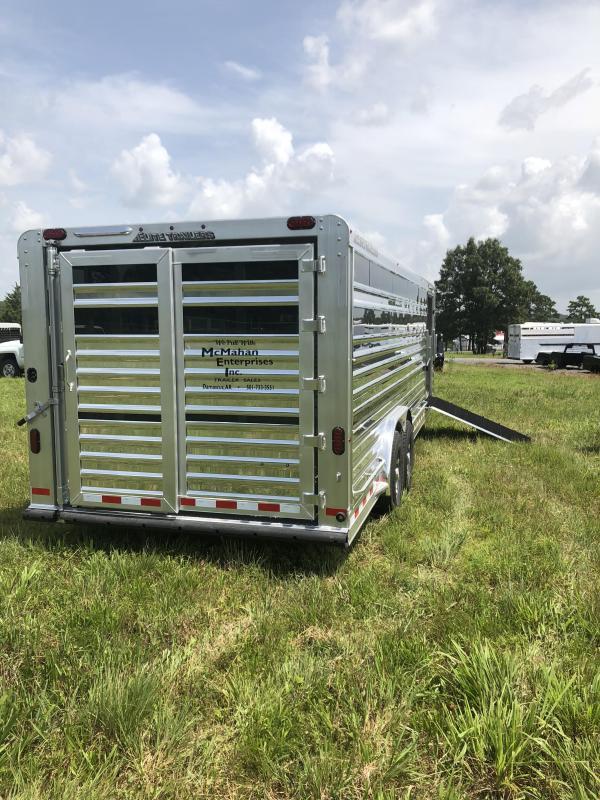 2020 Elite Trailers 8x24 Show Cattle Livestock Trailer