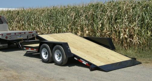 2017 B-Wise TG18-15 TILT TRAILER Equipment Trailer