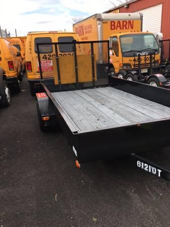 2006 Car Mate Trailers 6x12 Open Equipment Trailer