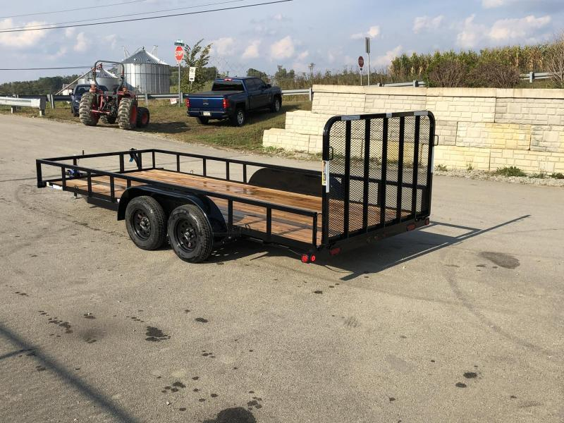 2019 Load Trail 7x18' Tube Top Utility Landscape Trailer 7000# GVW * UE8318032 * TUBE TOP * DEXTER'S * 2-3-2 WARRANTY