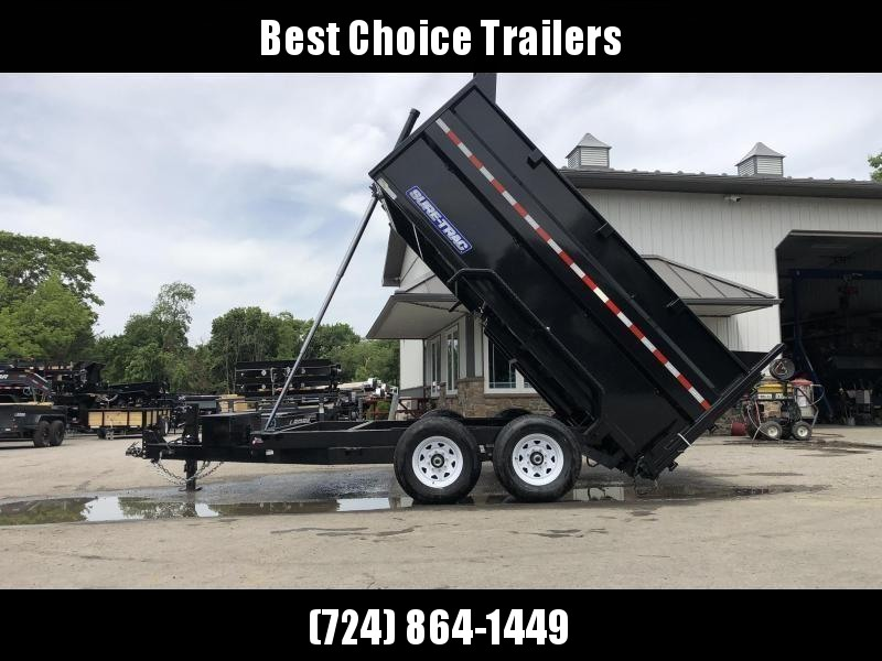 2020 Sure-Trac 7x14' Dump Trailer 14000# GVW * 4' HIGH SIDES * TELESCOPIC HOIST * 12K JACK * FRONT/REAR BULKHEAD * INTEGRATED KEYWAY * UNDERBODY TOOL TRAY * ADJUSTABLE COUPLER * 110V CHARGER * UNDERMOUNT RAMPS * COMBO GATE * SPARE MOUNT